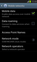 Samsung Galaxy S III Mini - Network - Manual network selection - Step 11