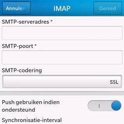 BlackBerry Q10 - E-mail - Handmatig instellen - Stap 13