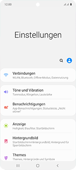 Samsung Galaxy A51 - Netzwerk - Manuelle Netzwerkwahl - Schritt 4