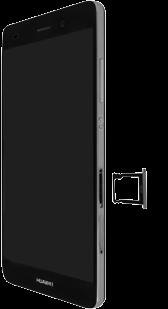 Huawei P8 Lite - SIM-Karte - Einlegen - Schritt 9