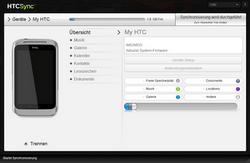 HTC X315e Sensation XL - Software - Sicherungskopie Ihrer Daten erstellen - Schritt 9