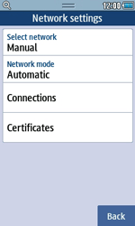 Samsung S5250 Wave 525 - MMS - Manual configuration - Step 6