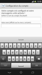 Sony Xpéria SP - E-mails - Ajouter ou modifier un compte e-mail - Étape 19
