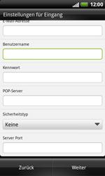 HTC X315e Sensation XL - E-Mail - Konto einrichten - Schritt 8