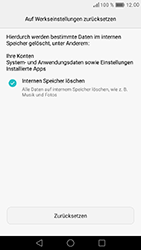 Huawei Nova - Fehlerbehebung - Handy zurücksetzen - Schritt 9
