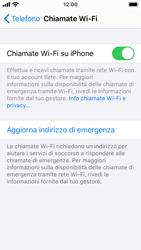 Apple iPhone SE - iOS 13 - WiFi - Attivare WiFi Calling - Fase 8