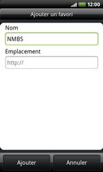 HTC A7272 Desire Z - Internet - navigation sur Internet - Étape 8