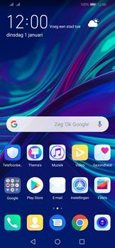 Huawei P Smart (2019) - E-mail - e-mail instellen: IMAP (aanbevolen) - Stap 1