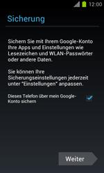 Samsung Galaxy S II - Apps - Einrichten des App Stores - Schritt 14