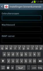 Samsung S7560 Galaxy Trend - E-mail - Handmatig instellen - Stap 8