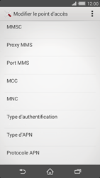 Sony Xperia Z2 - MMS - Configuration manuelle - Étape 11