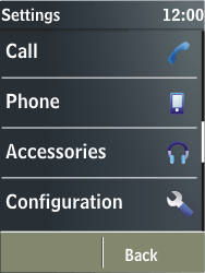 Nokia X3-02 - MMS - Manual configuration - Step 4