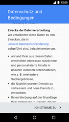 Motorola Moto G 3rd Gen. (2015) - Apps - Konto anlegen und einrichten - 12 / 18