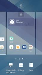 Samsung Galaxy A3 (2017) - Startanleitung - Installieren von Widgets und Apps auf der Startseite - Schritt 4