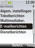 Nokia 2720 fold - E-mail - handmatig instellen - Stap 5