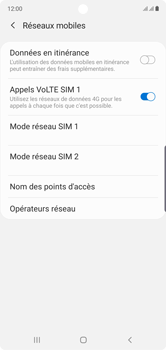 Samsung Galaxy Note10 - Réseau - Sélection manuelle du réseau - Étape 6
