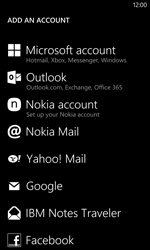 Nokia Lumia 1020 - E-mail - manual configuration - Step 6
