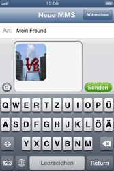 Apple iPhone 4 - MMS - Erstellen und senden - Schritt 14