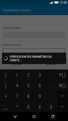 HTC Desire 816 - E-mail - Configuration manuelle - Étape 13