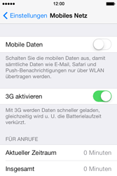 Apple iPhone 4 S mit iOS 7 - Internet - Manuelle Konfiguration - Schritt 4