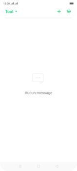 Oppo Reno 2 - Contact, Appels, SMS/MMS - Envoyer un SMS - Étape 4