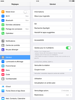 Apple iPad Air iOS 8 - Internet et roaming de données - Comment vérifier que la connexion des données est activée - Étape 3