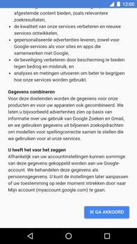 Huawei Nexus 6P - Android Oreo - Applicaties - Account instellen - Stap 15