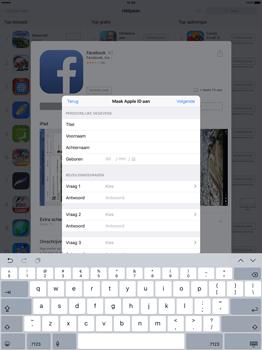 Apple iPad Pro 12.9 inch (Model A1671) - Applicaties - Account aanmaken - Stap 12