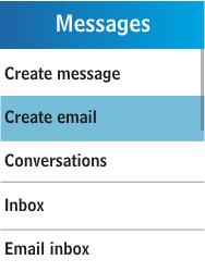 Samsung C3300K - E-mail - Sending emails - Step 4