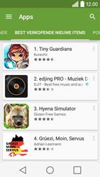 LG Leon 3G (H320) - apps - app store gebruiken - stap 10