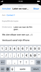 Apple iPhone SE (iOS 11) - e-mail - hoe te versturen - stap 8