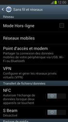 Samsung Galaxy S III LTE - Réseau - Sélection manuelle du réseau - Étape 5