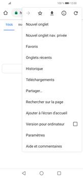Huawei P30 lite - Internet et connexion - Naviguer sur internet - Étape 8