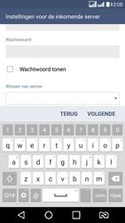 LG K8 4G DualSim - E-mail - handmatig instellen - Stap 13