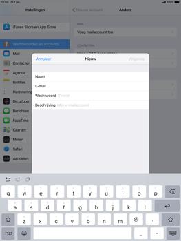 Apple ipad-air-10-5-inch-2019-model-a2123 - E-mail - Handmatig instellen - Stap 9