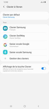 Samsung Galaxy S20 Ultra 5G - Prise en main - Comment ajouter une langue de clavier - Étape 7
