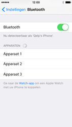 Apple iPhone SE (iOS 9) - bluetooth - aanzetten - stap 5