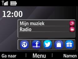 Nokia Asha 210 - Internet - Handmatig instellen - Stap 1
