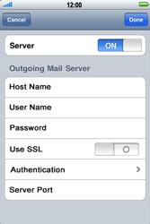 Apple iPhone 4 - E-mail - Manual configuration - Step 14