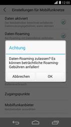 Huawei Ascend P7 - Ausland - Im Ausland surfen – Datenroaming - Schritt 8