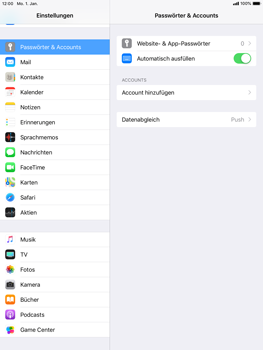 Apple iPad Air - E-Mail - Konto einrichten (gmail) - 4 / 11