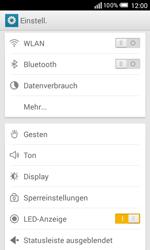 Alcatel Pop S3 - MMS - Manuelle Konfiguration - 1 / 1