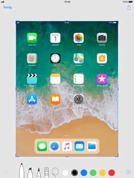 Apple iPad Pro 9.7 inch - iOS 11 - Bildschirmfotos erstellen und sofort bearbeiten - 7 / 8