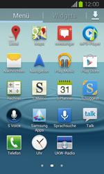 Samsung Galaxy Express - Apps - Einrichten des App Stores - Schritt 3
