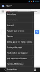 Wiko Rainbow - Internet - Navigation sur Internet - Étape 17