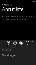 Nokia Lumia 1320 - Anrufe - Rufumleitungen setzen und löschen - 1 / 1