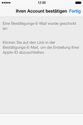 Apple iPhone 4 S mit iOS 7 - Apps - Konto anlegen und einrichten - Schritt 34