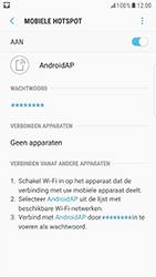Samsung Galaxy S6 Edge - Android Nougat - WiFi - Mobiele hotspot instellen - Stap 12