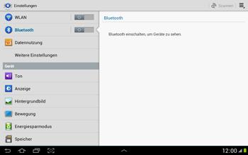 Samsung Galaxy Note 10-1 - Bluetooth - Geräte koppeln - 6 / 10