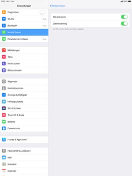 Apple iPad Pro 12.9 inch - iOS 12 - Ausland - Auslandskosten vermeiden - Schritt 7